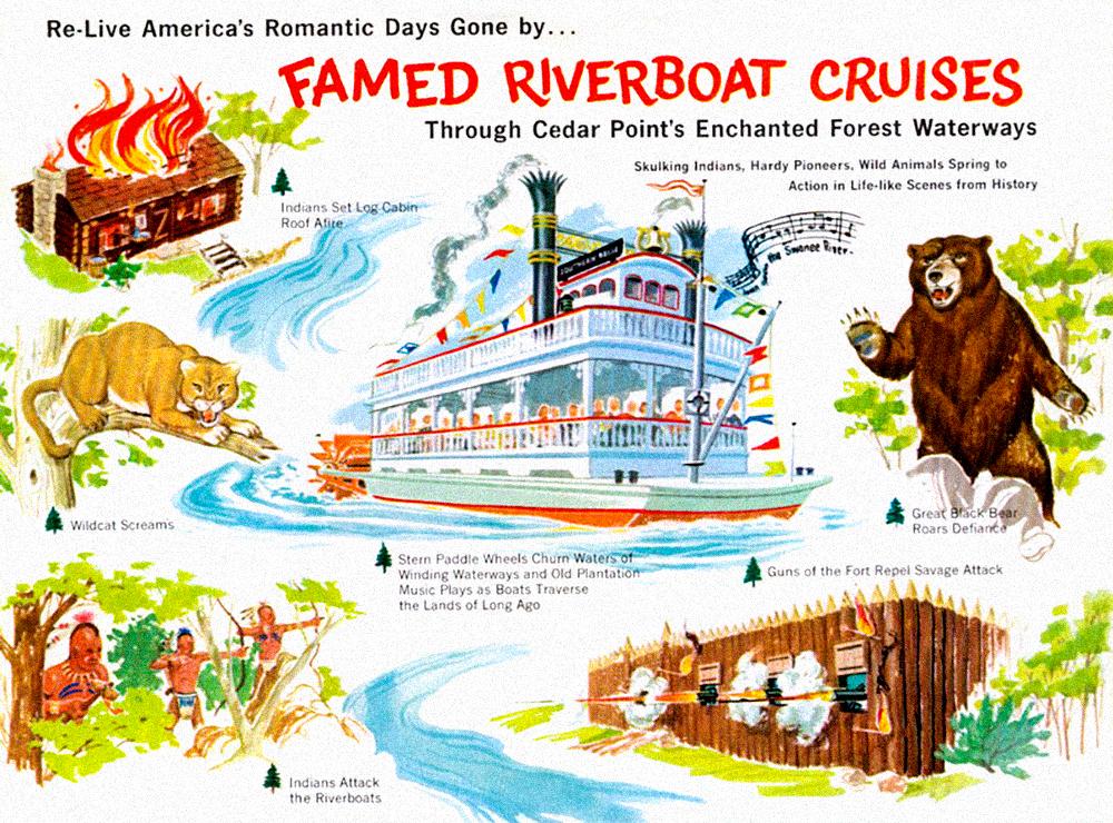 Cedar Point brochure, 1961.