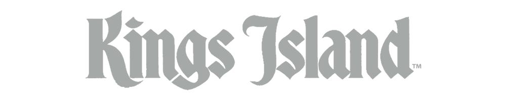 Kings Island's original wordmark.