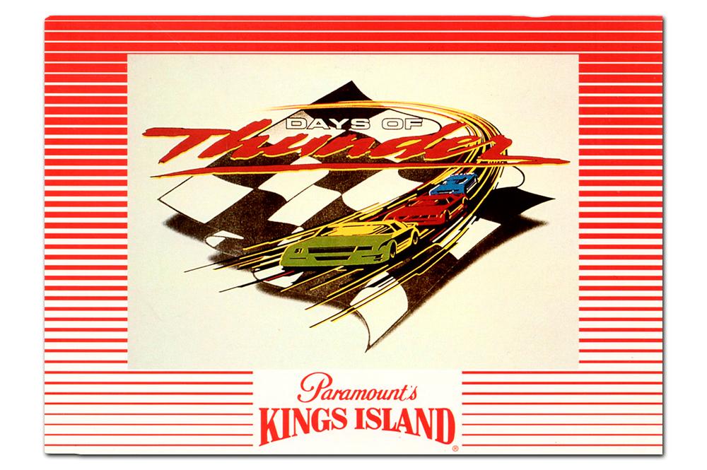 Days of Thunder   postcard, 1994.