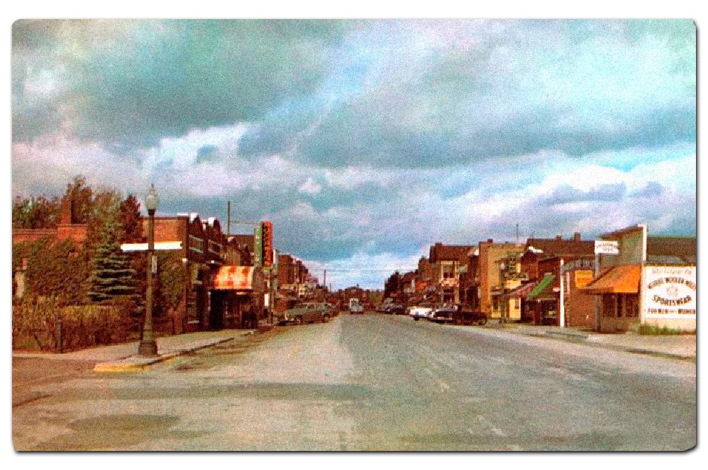 Vintage postcard, Minocqua, Wisconsin.