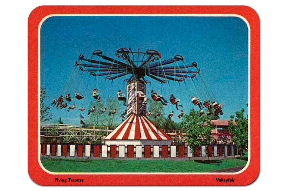 Vintage postcard, Valleyfair!