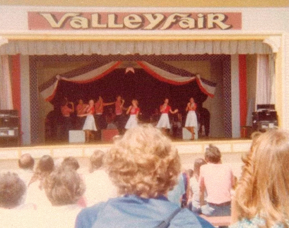 Valleyfair entertainment venue, sometime in the early eighties.