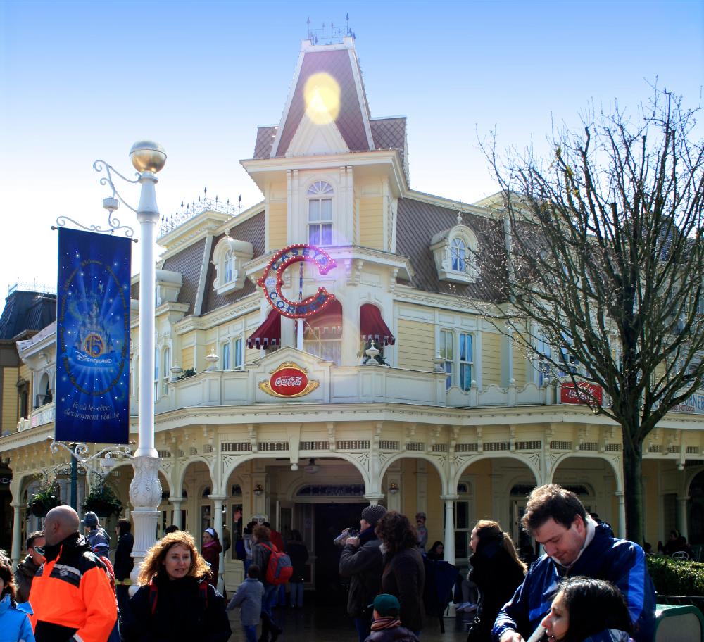 Disneyland Paris, 2008.