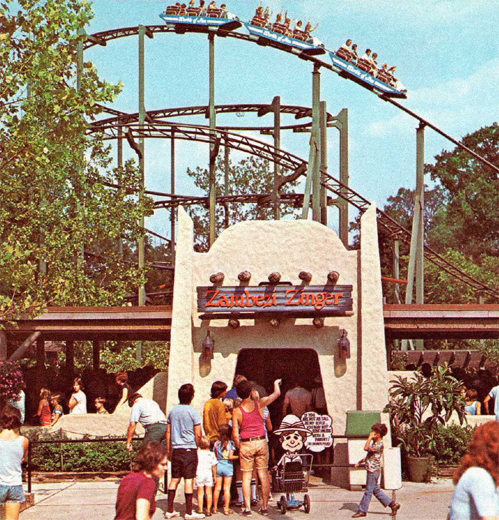 Zambezi Zinger  entrance (1973–1997).
