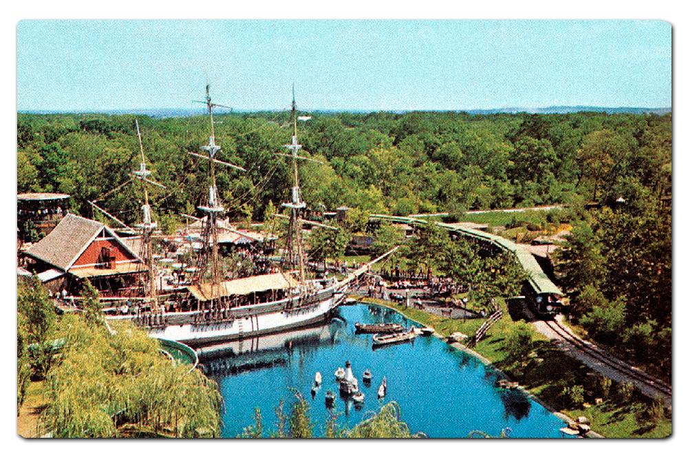 Vintage postcard, original  Scandinavia  area.