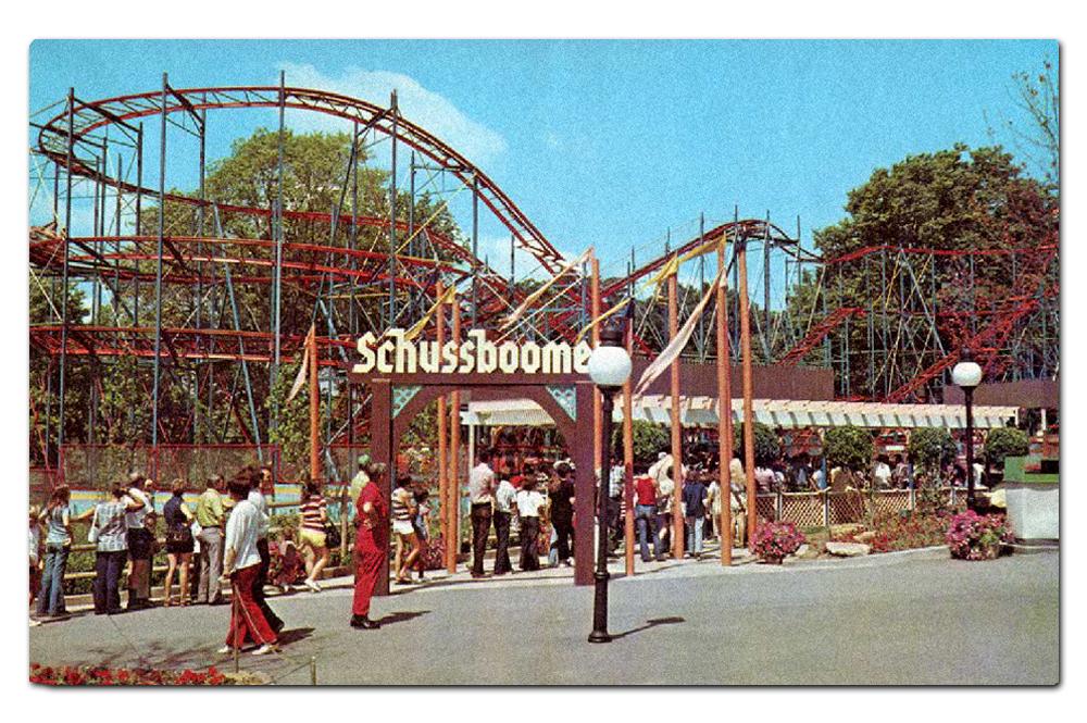 Vintage postcard,  Schussboomer  (1973–1984).