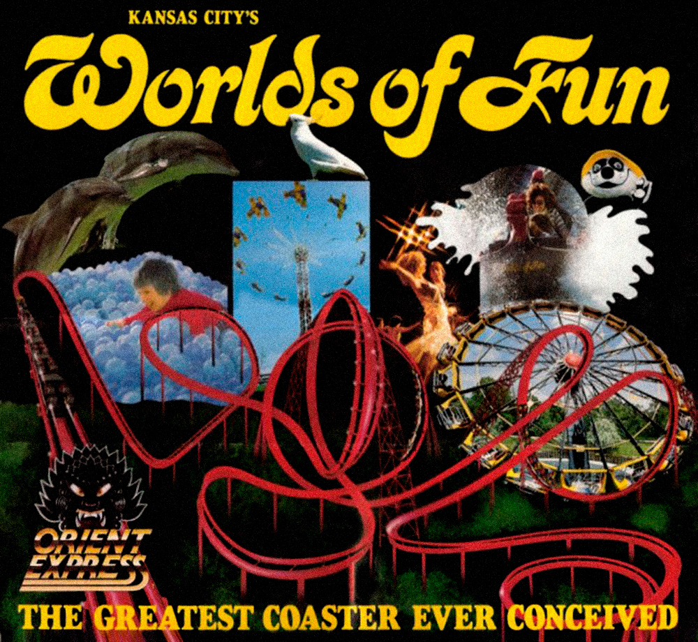 Vintage Worlds of Fun advertisement, 1980.