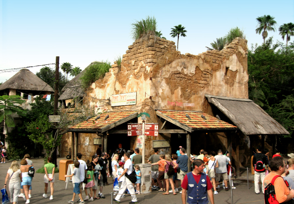 Africa  area, Disney's Animal Kingdom, 2007.