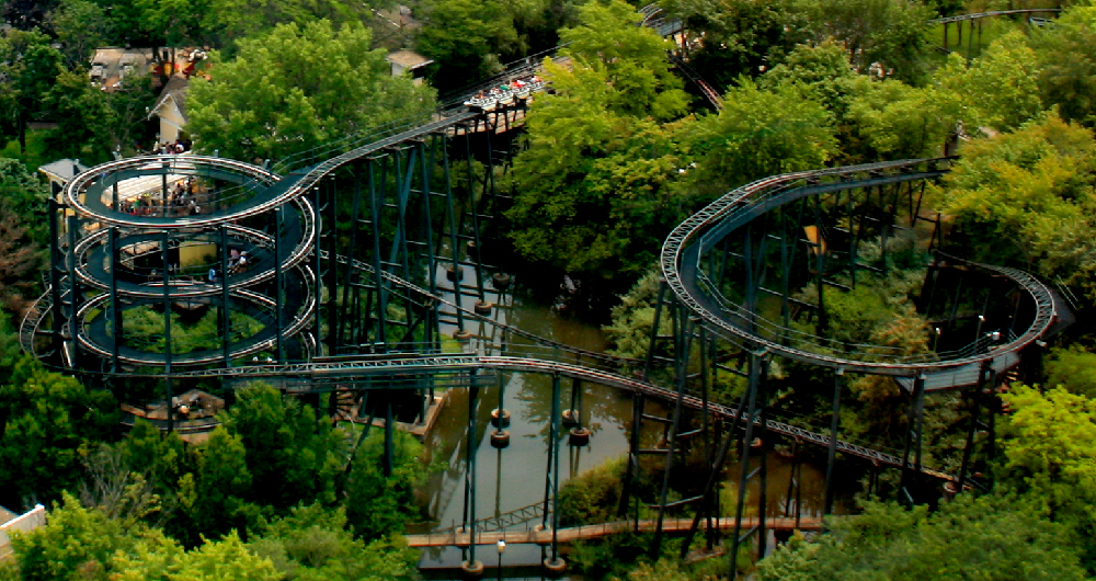 Whizzer  at Six Flags Great America.