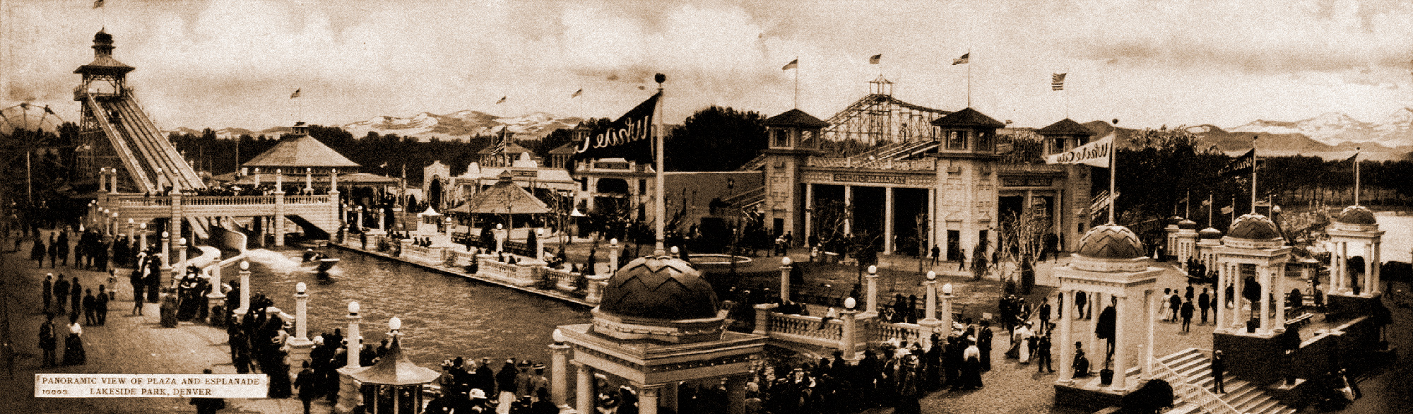 Vintage panorama, White City.