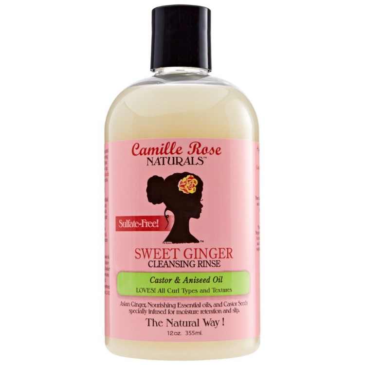 Camille Rose Naturals Sweet Ginger Cleansing Rinse