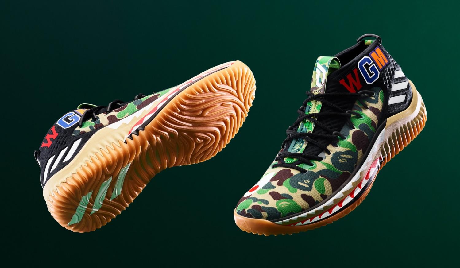 Adidas X Bape Dame 4 (MESH) -