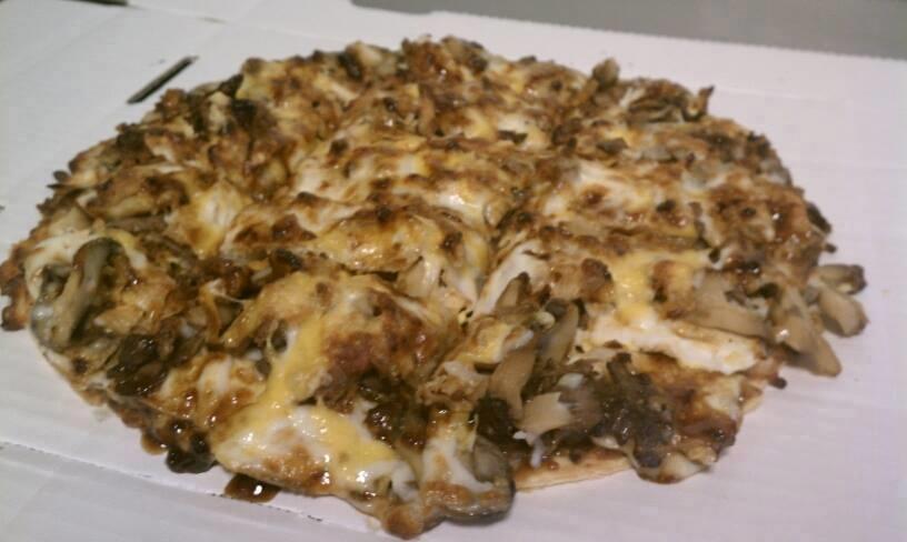 Pizza of the Month: Portobello Mushroom and Steak
