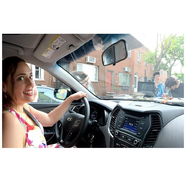 In retrospect, the hood mount setting off the car alarm makes sense...BTS from HITCHED. . . . #griprigs #carmount #reddigitalcinema #actorslife #southphilly #countdownfilm