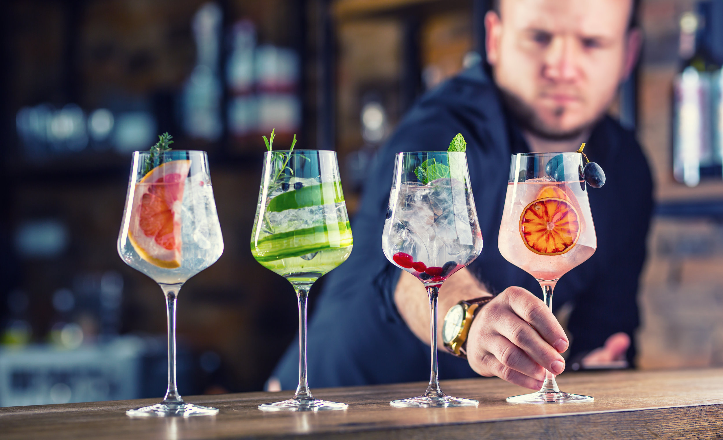 Drink It! - Ask the bartender for club soda in a wine glass with a garnish.  Want  to make a mocktail at home? Click here to try out a recipe.