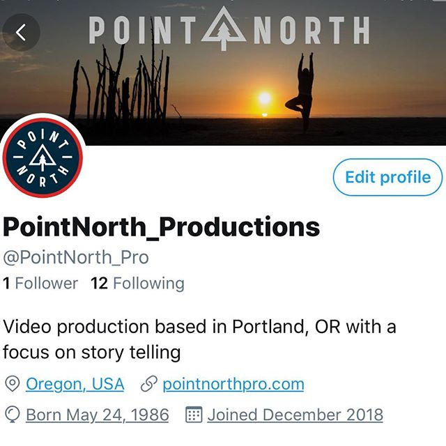 We've recently hopped on the #twitter bandwagon. Better late to the party than not showing up at all, right?! We're sharing a lot of story knowledge and storytelling theory over there. @PointNorth_Pro