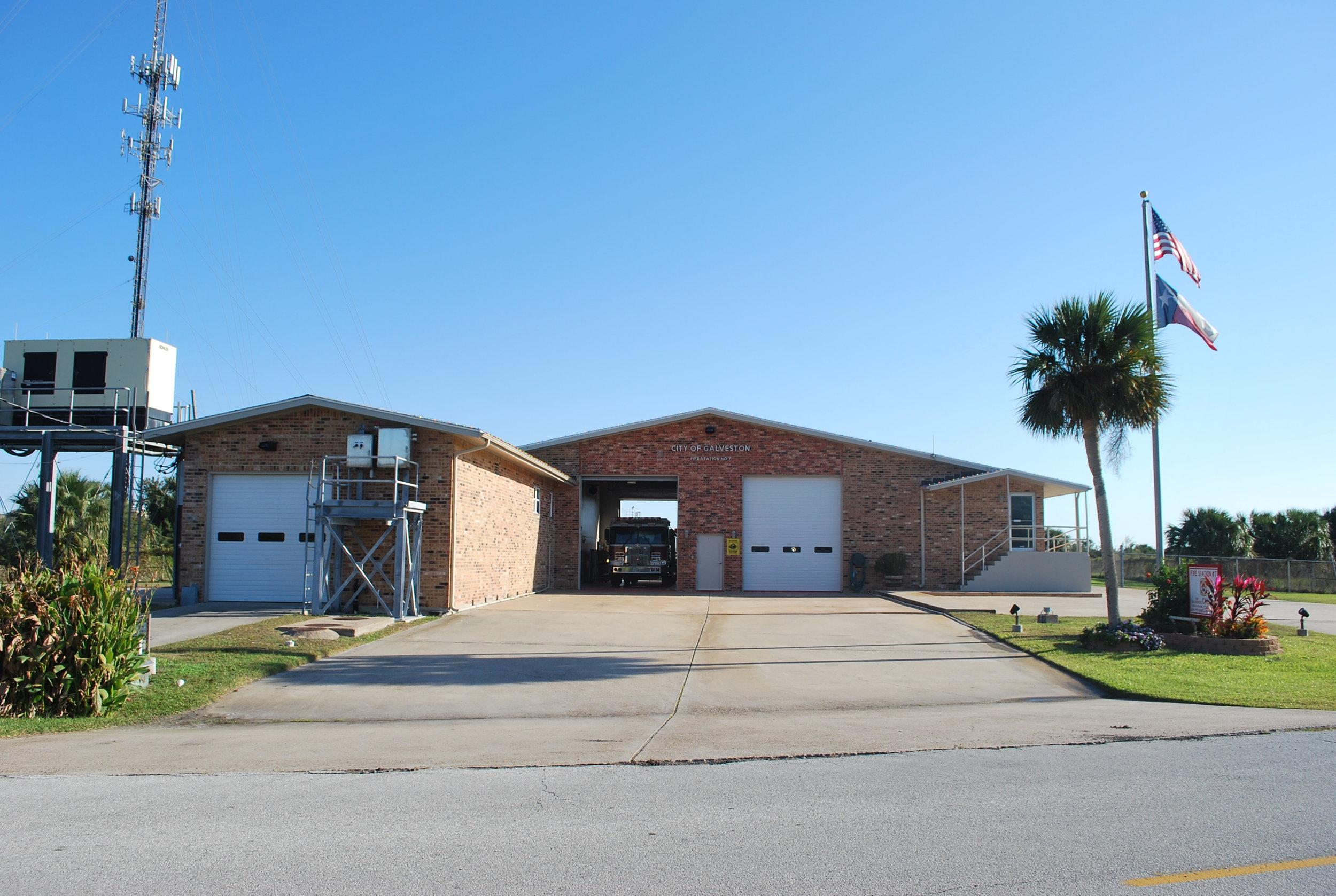 galveston fire stations -