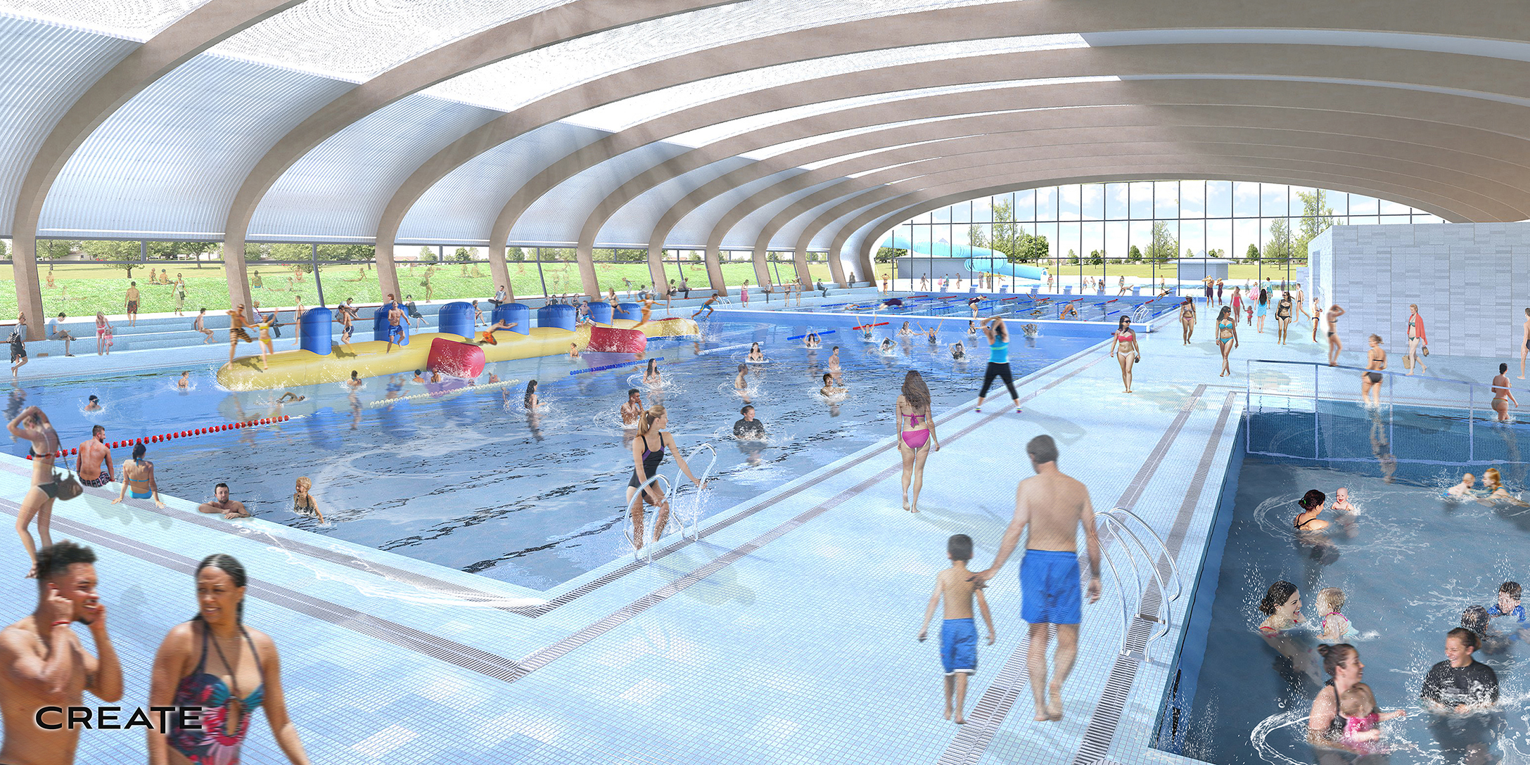 Gisborne Olympic Pool Upgrade, Gisborne