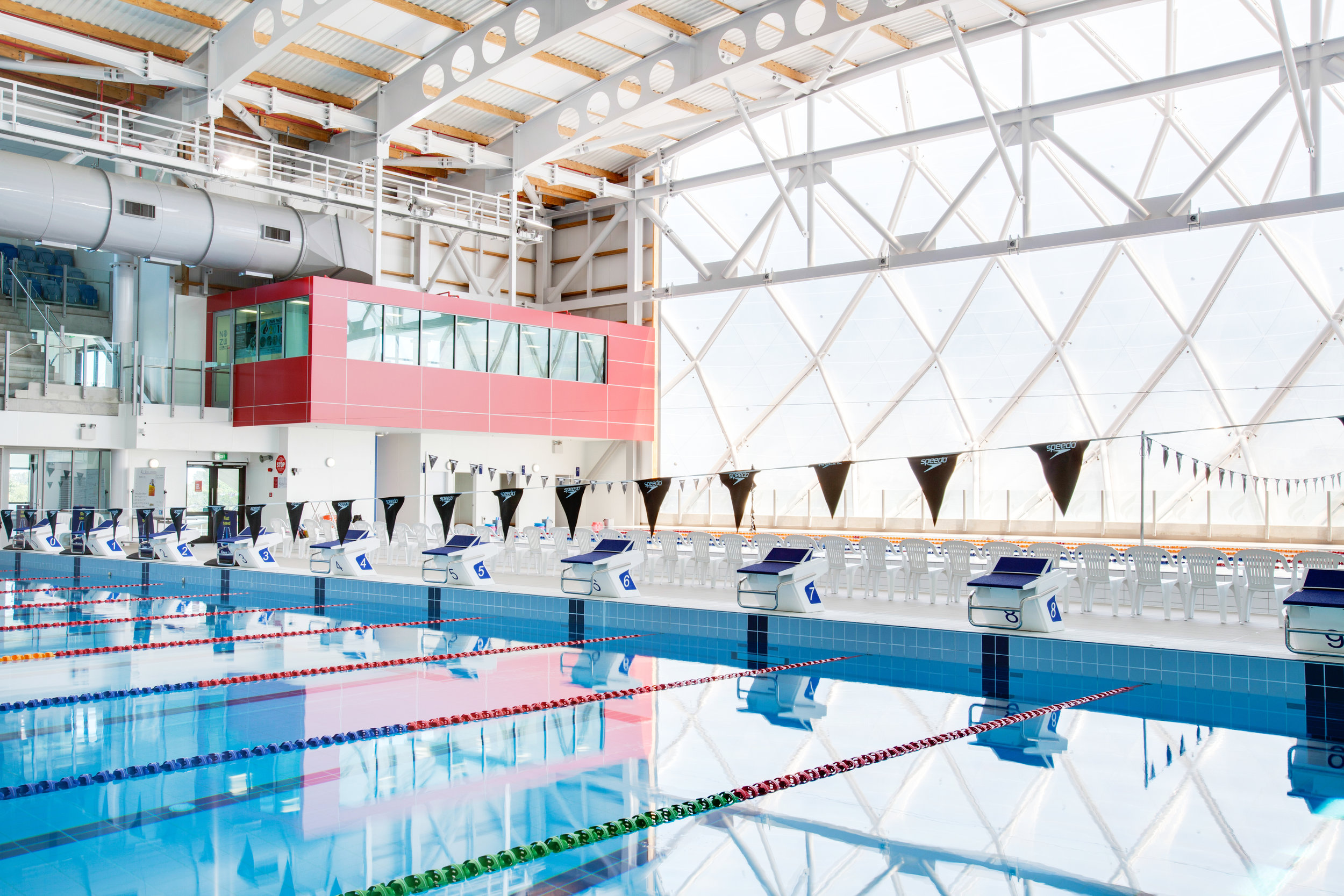 AUT Millenium Aquatic Centre, Feature ETFE Facade