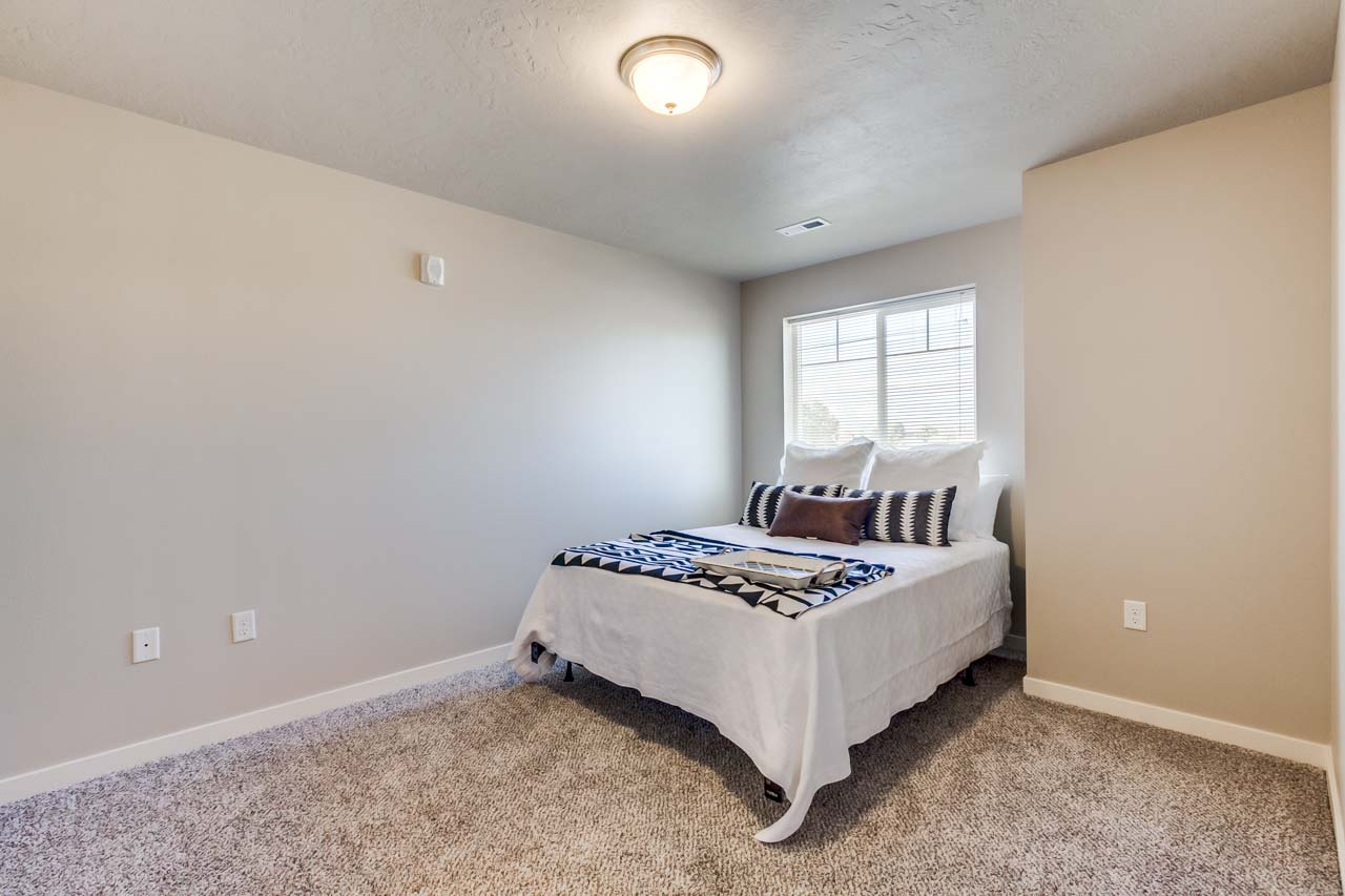 Stonesthrow Town Home Master Bedroom