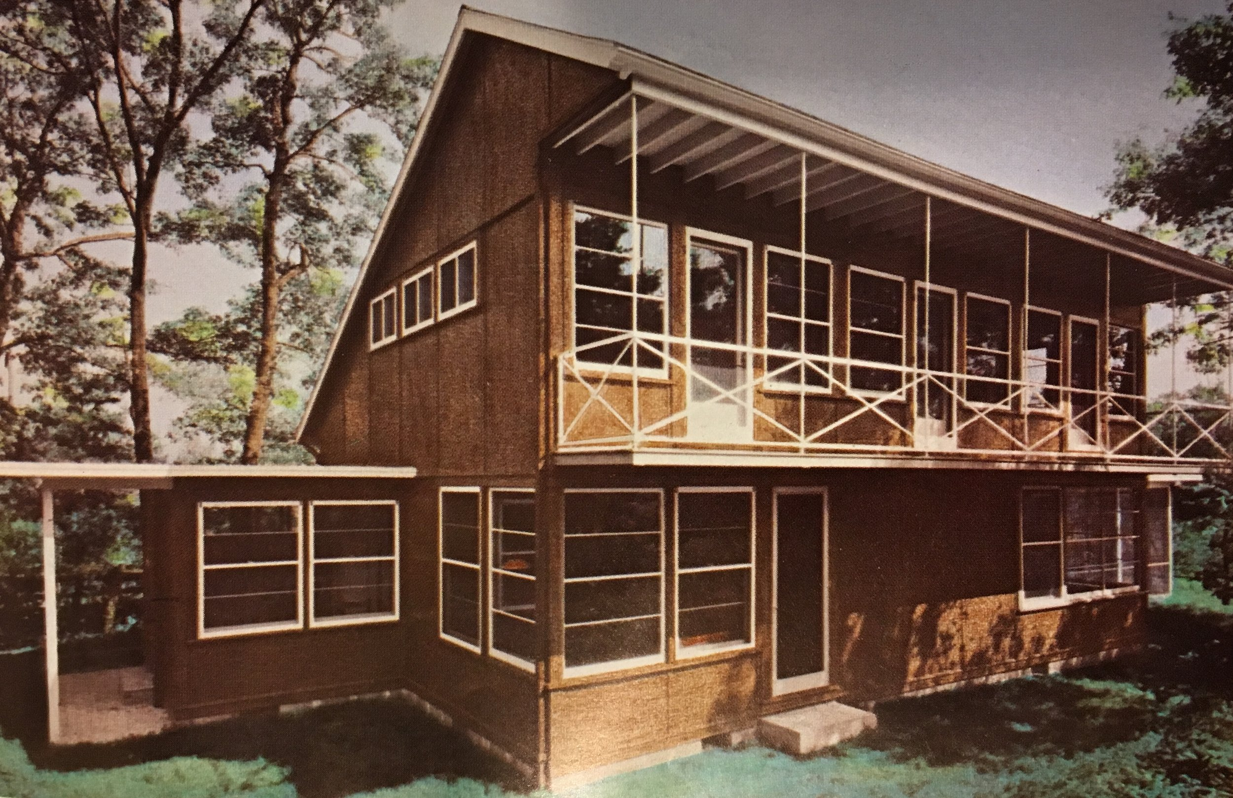 Fig 8: Eleanor Raymond. Plywood House, Interior Cabinetry, Dover, Massachusetts, 1940. Status unknown. Eleanor Raymond, Architect by Doris Cole.