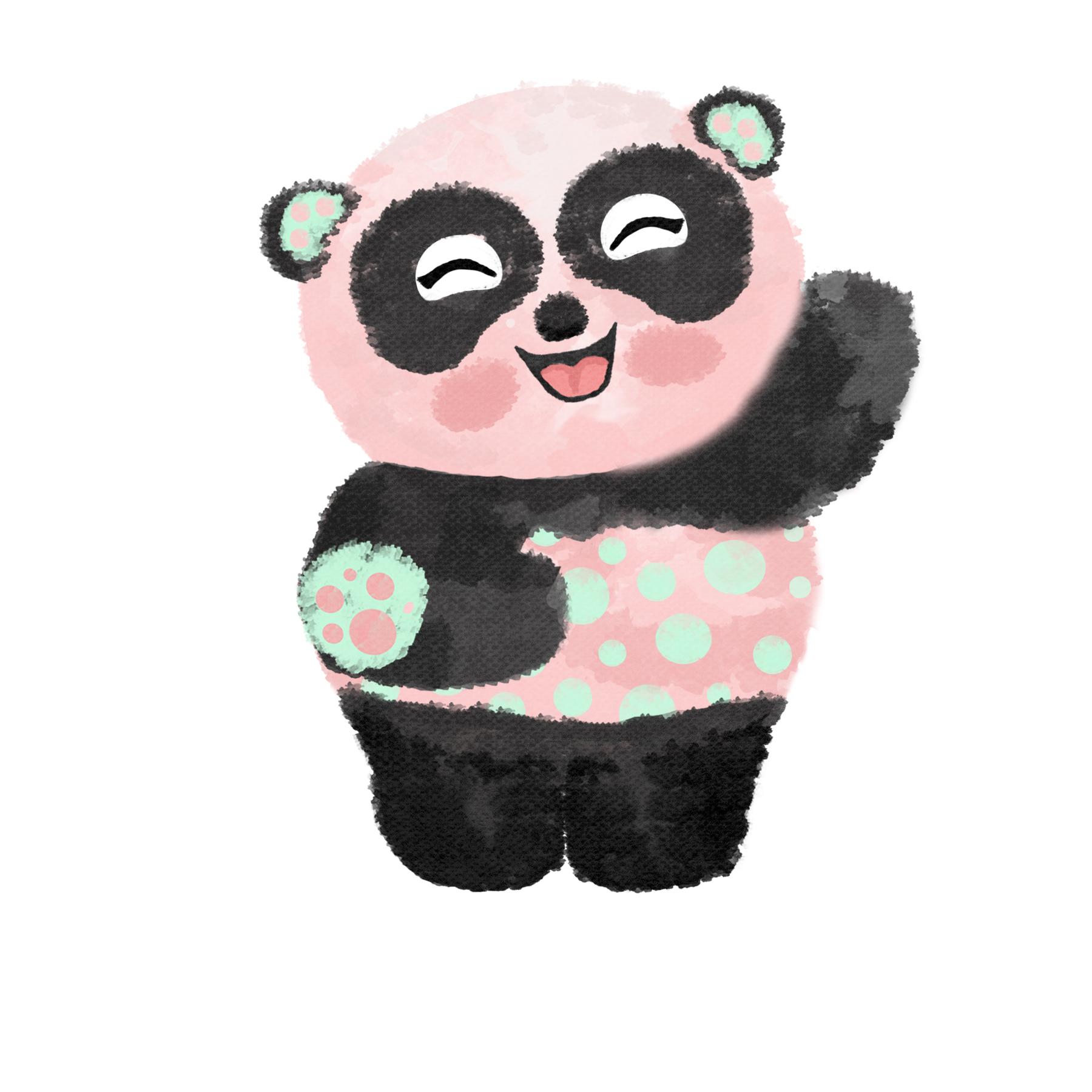 Greta the grateful panda