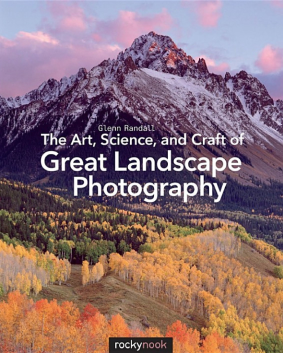 "Participants in full-day and multi-day tours and workshops receive a copy of Glenn Randall's ""The Art, Science and Craft of Great Landscape Photography."" Randall is a master landscape photographer and a gifted writer and teacher."
