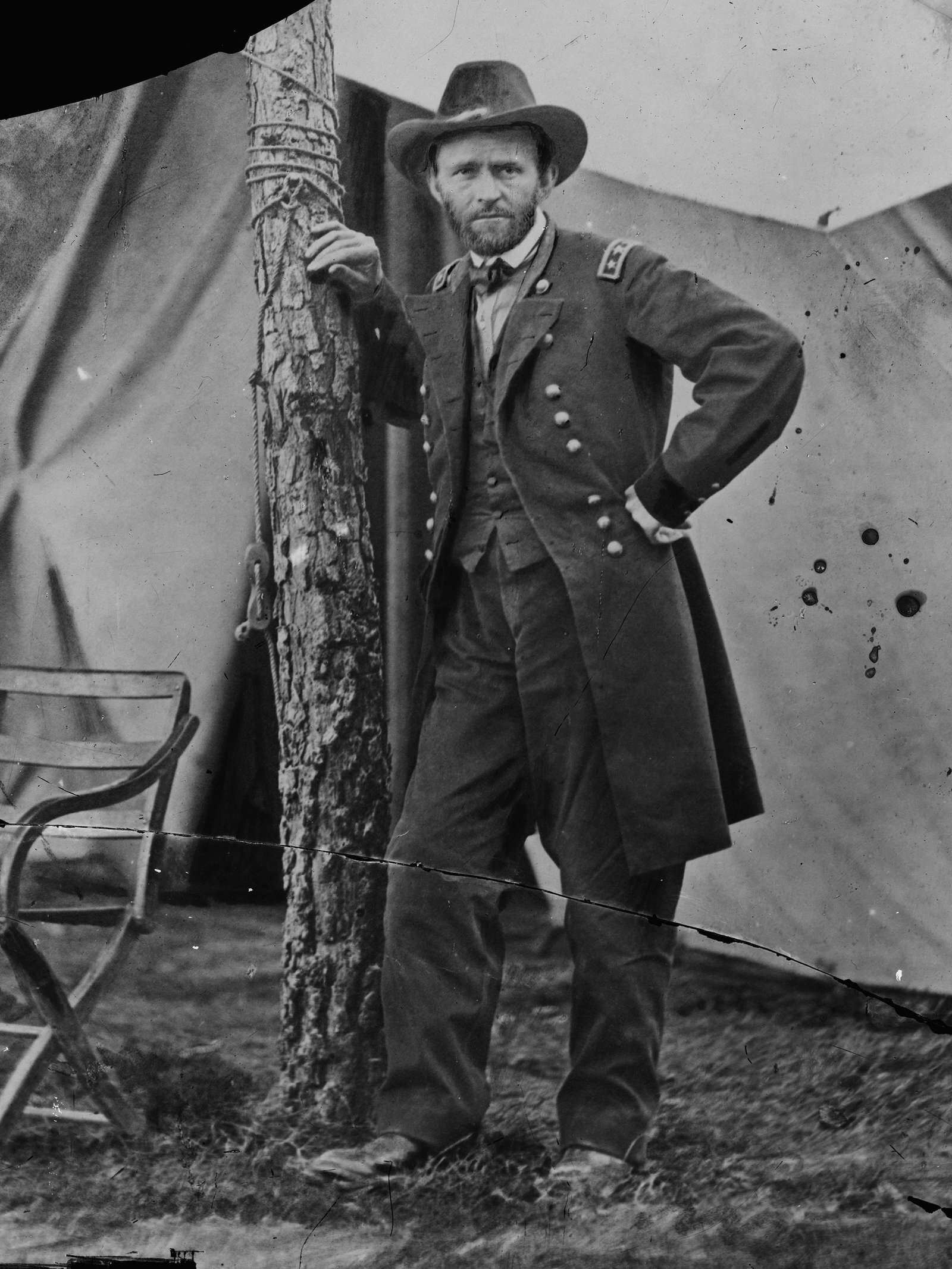 PRO-PARK PRESIDENT ULYSSES S. GRANT MADE SOME OF AMERICA GREAT.