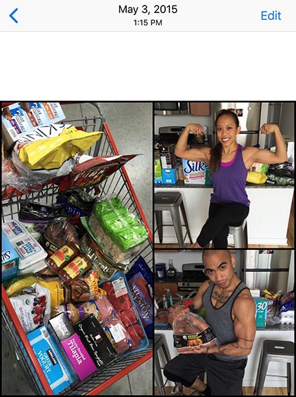Back in 2015 when Lanie and I decided to make changes in our nutrition, proud of doing something different: controlling everything we consume.