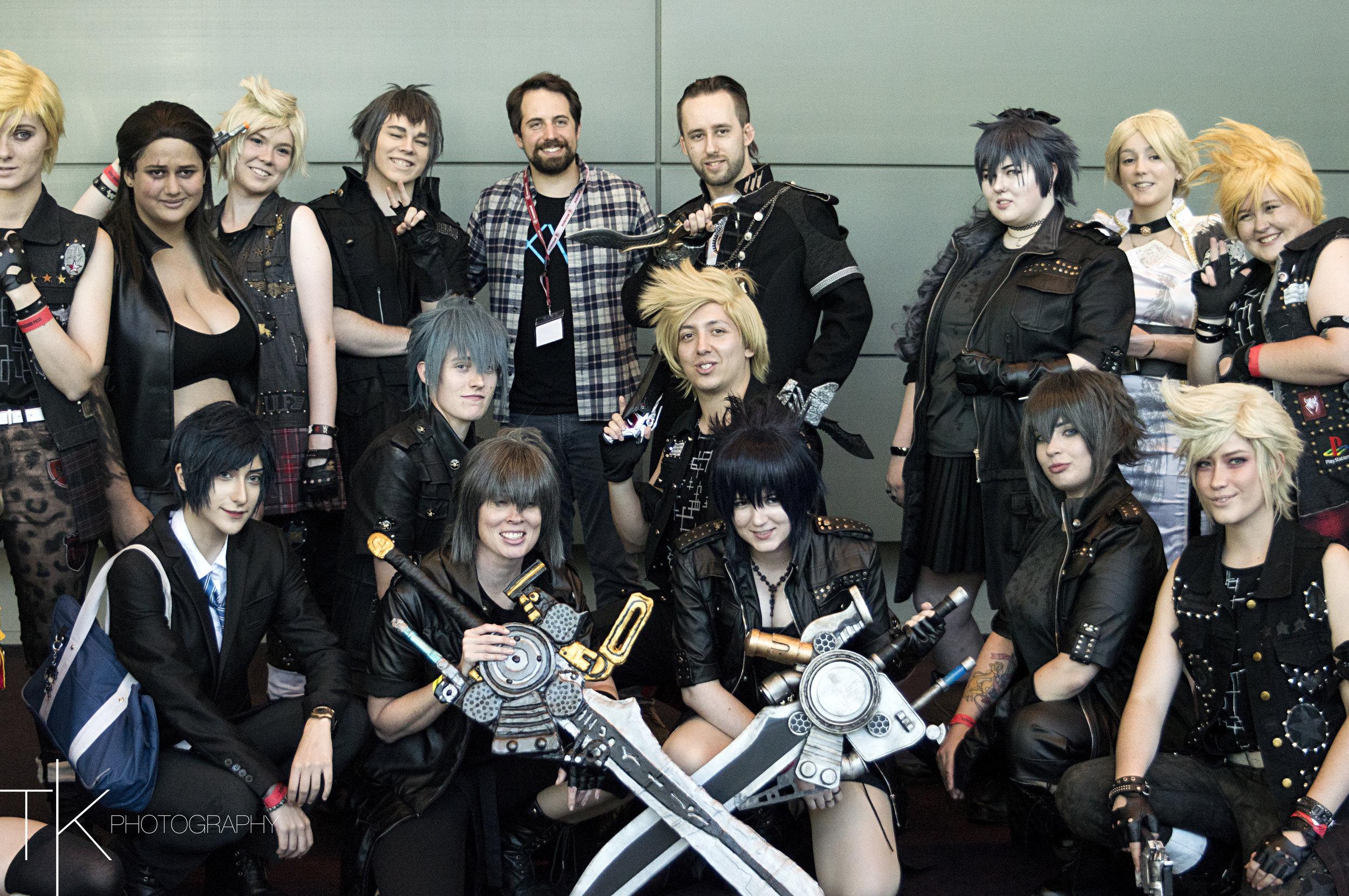 Final Fantasy ft Ray Chase & Knitemaya by Tiffany Kennedy 3
