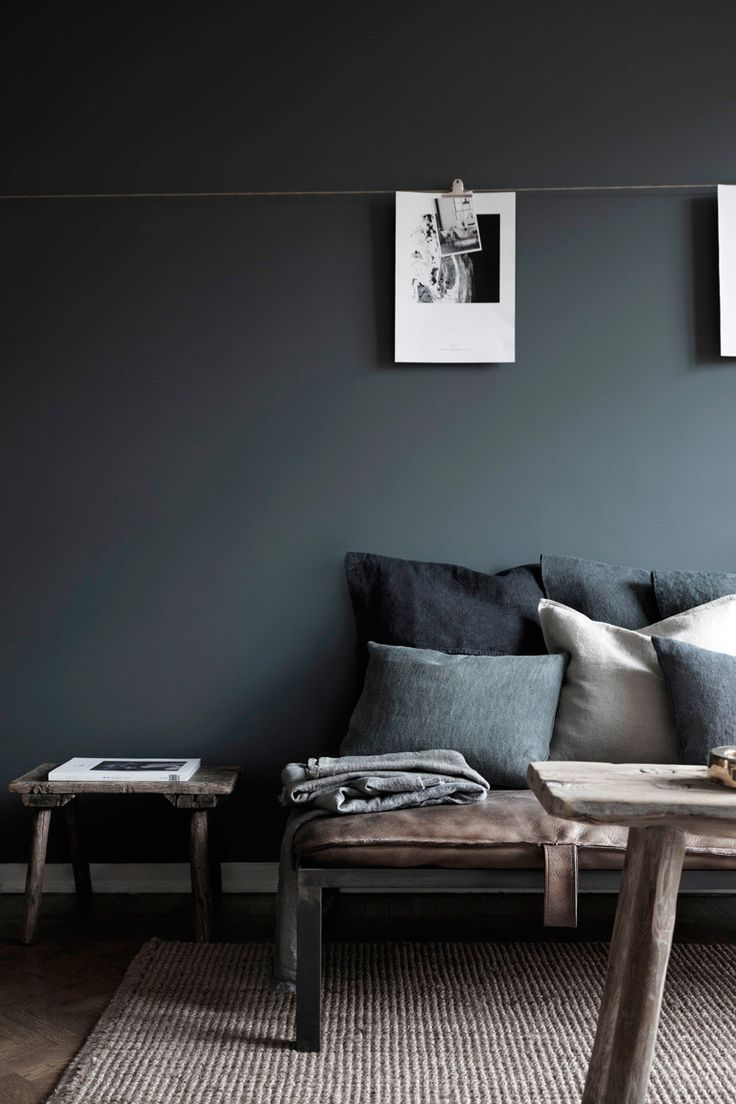 myidealhome :     soft & cosy gray (via   Pinterest )