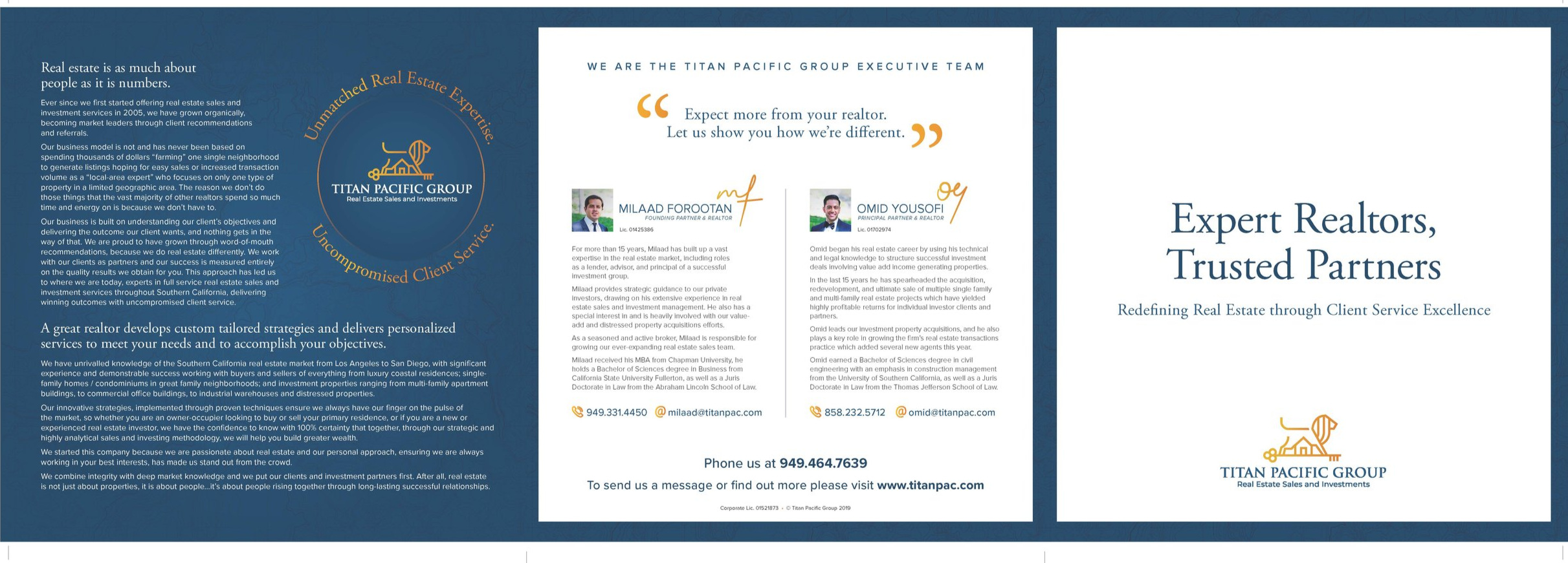 Download our brochure to find out why you should expect more from your Realtor   →