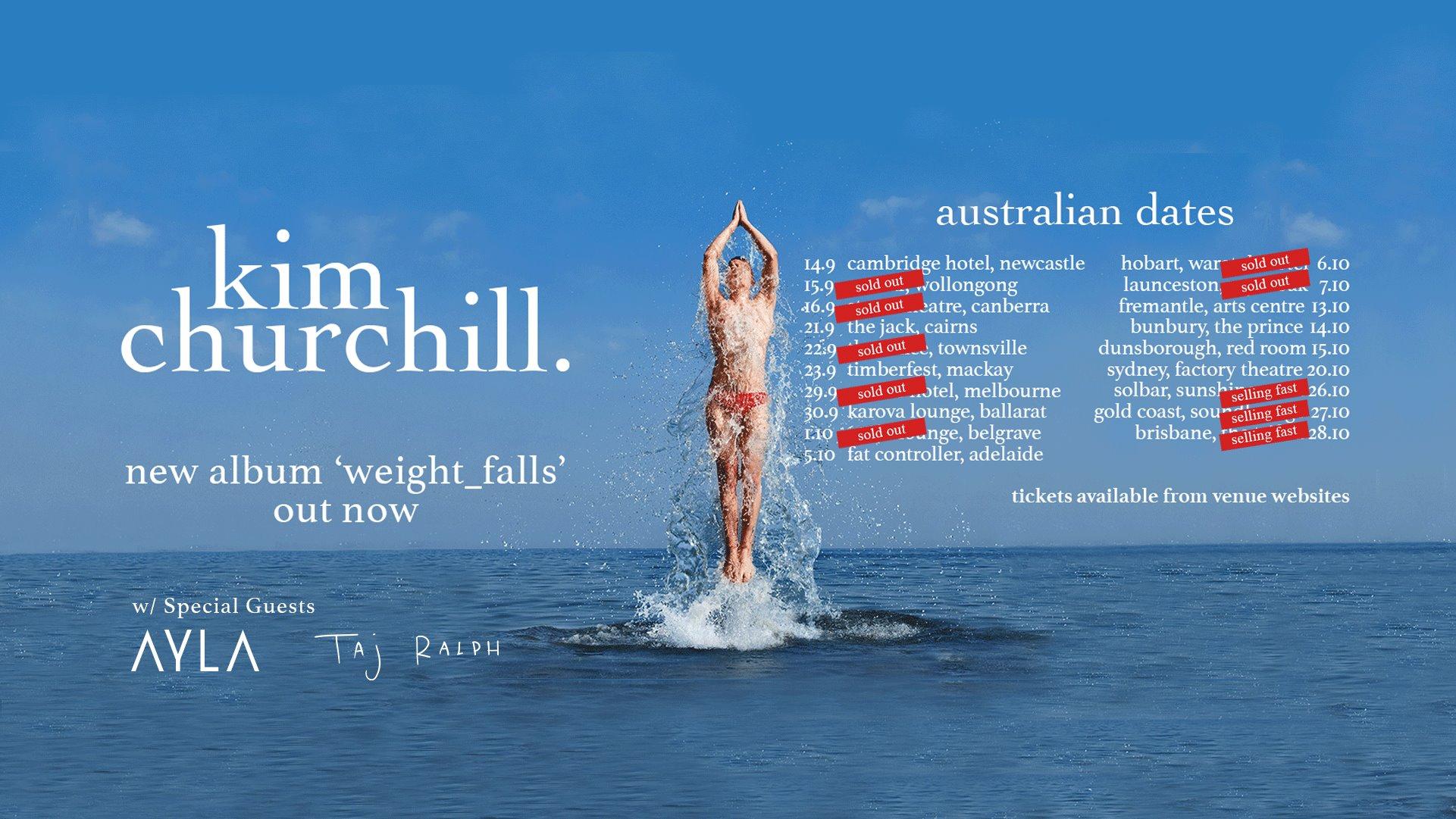 Merchandise - Melbourne; Septemeber 2017