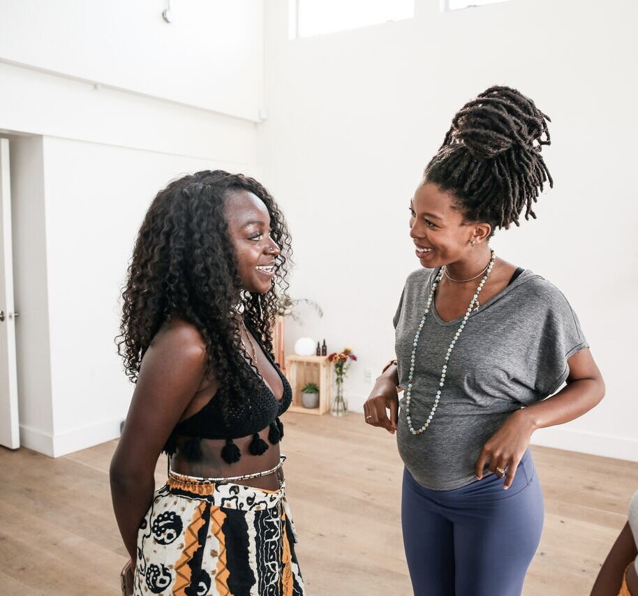 Our founder with Jhene Claiborne, Vegan Chef, Author, Youtuber, and Vlogger. Follow her on instagram at @sweetpotatosoul