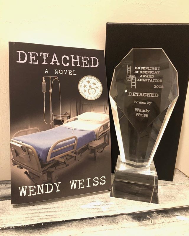 Received my movie adaption award today and contract to purchase the movie rights! #booktomovie #thriller #kindle #books #amreading #bestseller #DETACHED https://goo.gl/8AQciX