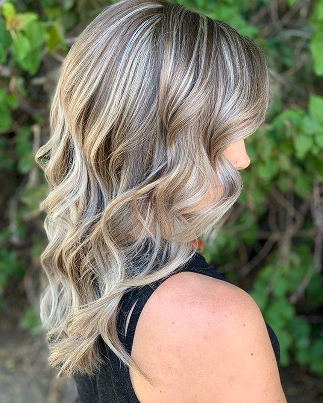 Hair by: Alex A. Service: Full highlights.  #organic #highlights #oway #owayproducts #blowmeawaysalon #stylist #beautiful