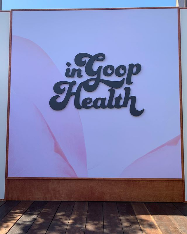 """We're honored to be participating in """"In Goop Health LA"""" with @goop and @regi this year! Check us out at the beauty studio tomorrow where we will be sharing a tutorial on how to give yourselves self care through head massages💆♀️ #ingoopla #goop #regi #selfcare"""