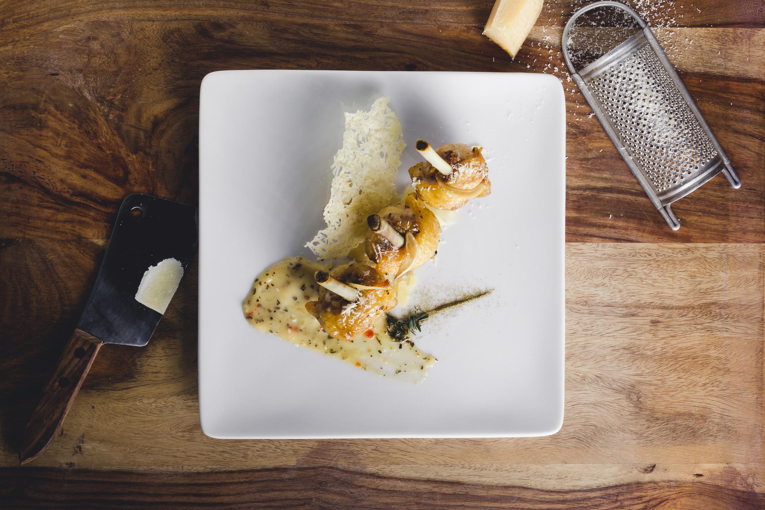 EZ WINGS Garlic Parmesan Wing Lollies