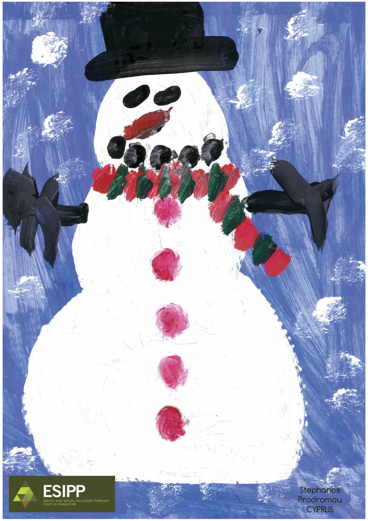 cristmas tree Stephanos snowman.jpg