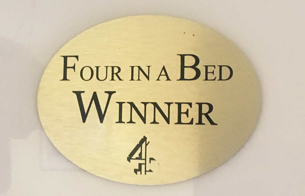 four in a bed winner