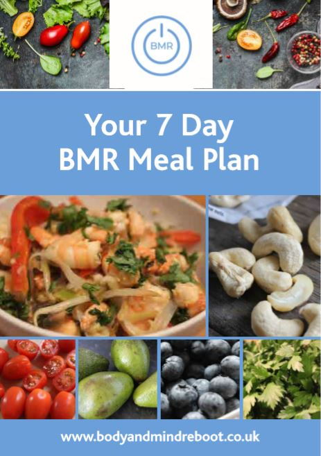 bmr 7 day meal plan