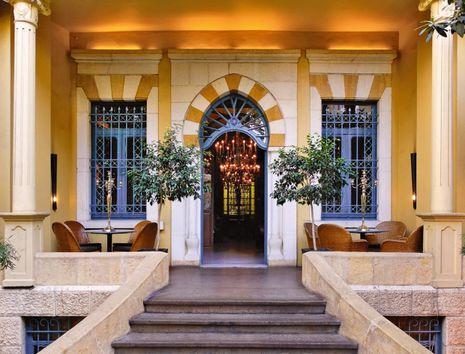 Unique Relais & Châteaux du Liban, l'Albergo est une institution.© DR