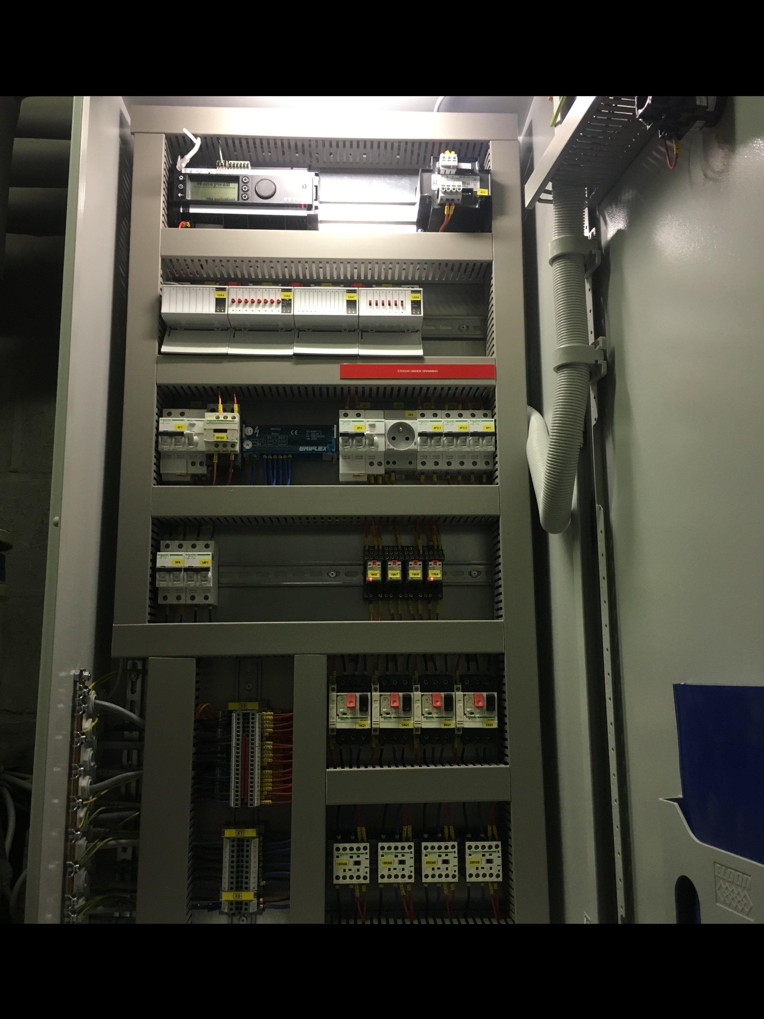 Automatisering verwarming UA Stadscampus