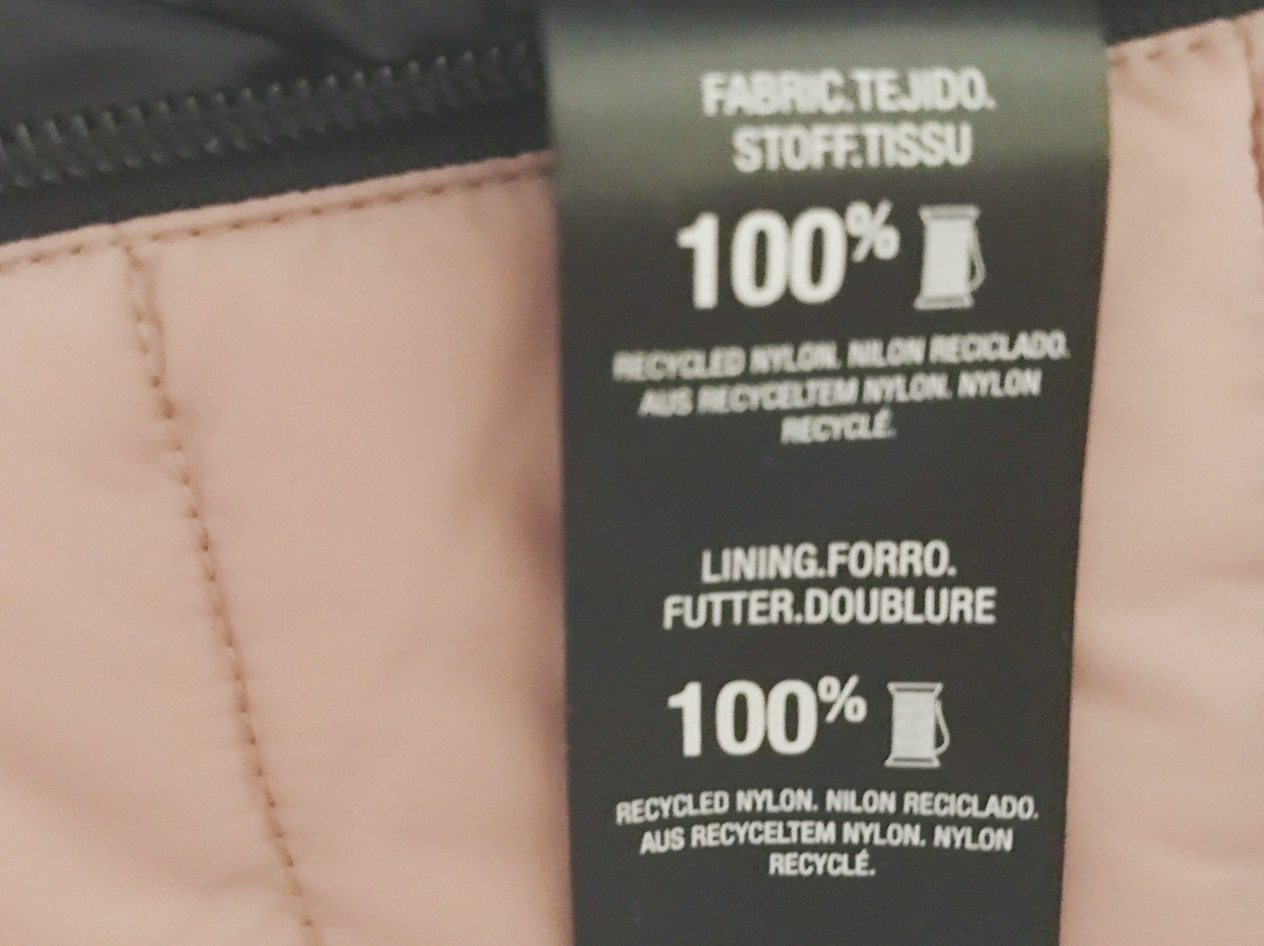 Recycled synthetic fibers
