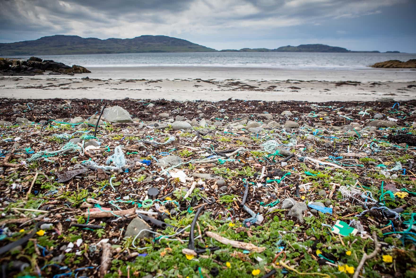 - Kilninian beach, Isle of Mull, Scotland.