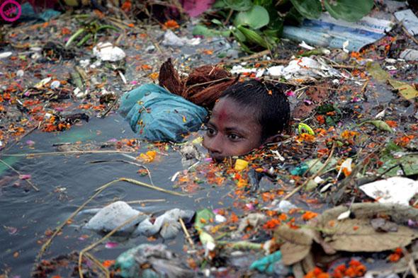 - Yamuna River, New Delhi.
