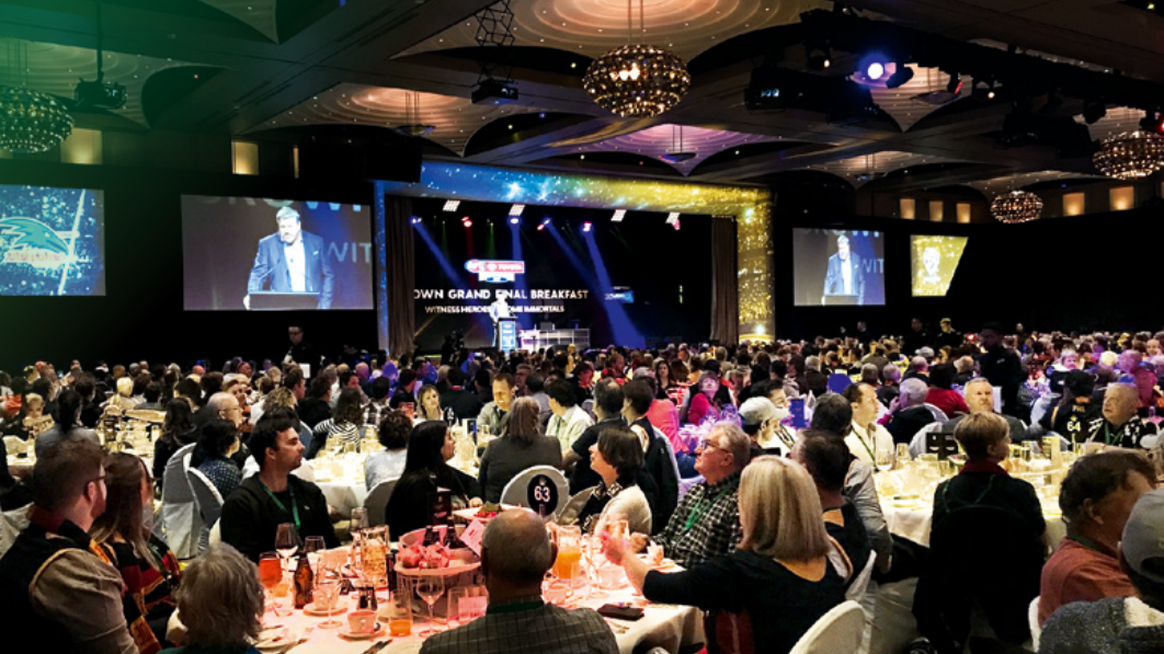 SOLD OUT - CROWN GRAND FINAL BREAKFAST - CROWN PALLADIUMSATURDAY SEPTEMBER 28