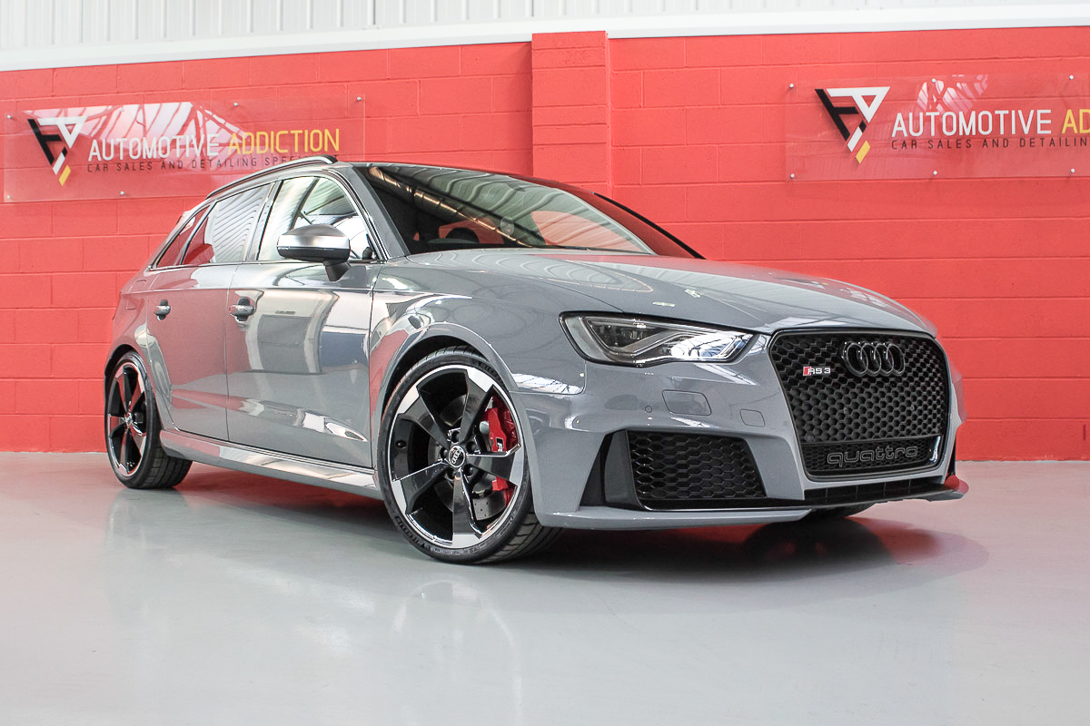 2015 Audi RS3 8V Nardo Grey <b>£36,995</b>
