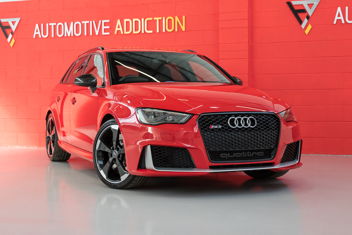 2015 Audi RS3 8V Catalunya Red £36,995