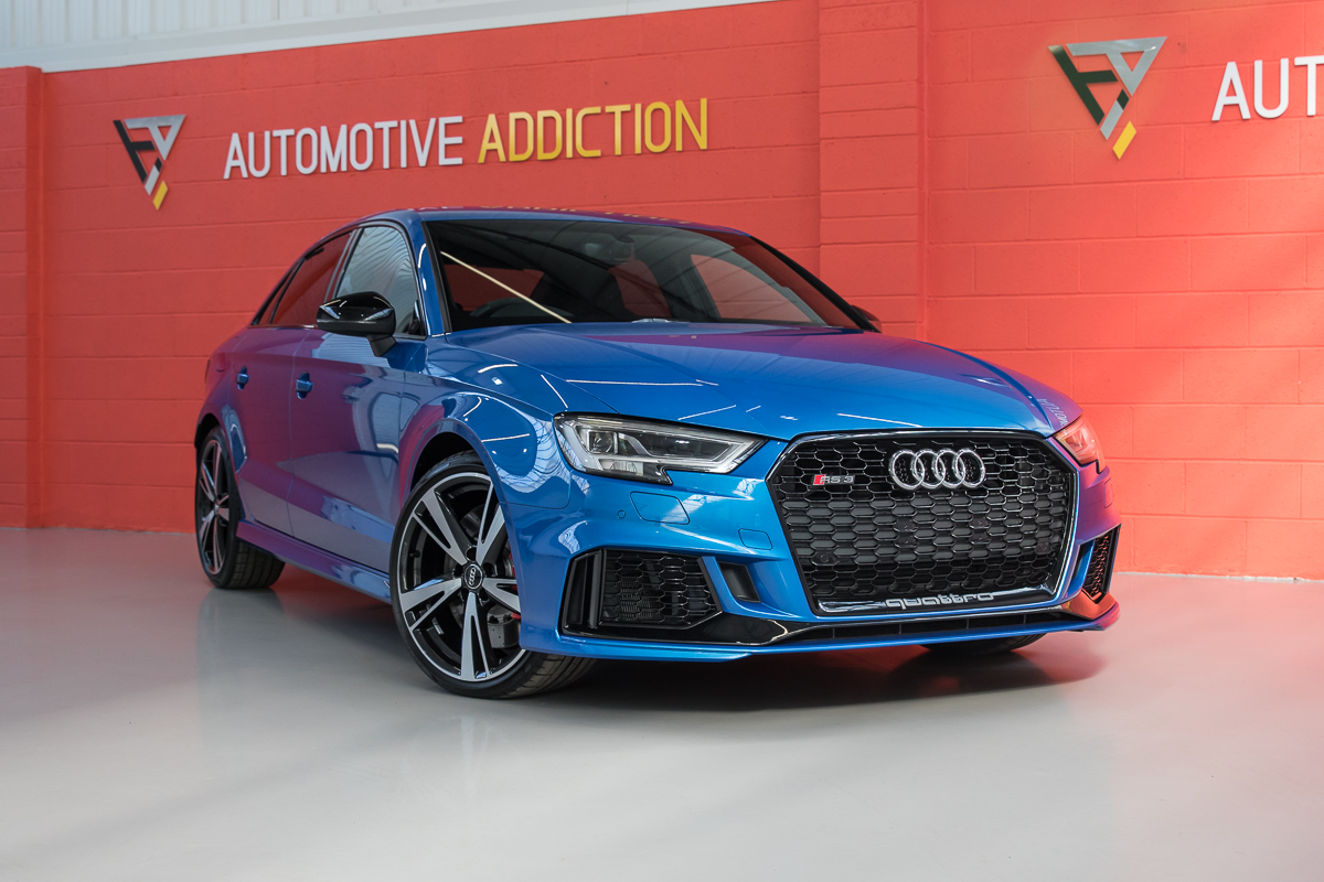 2017 Audi RS3 8V Saloon 400PS £45,995